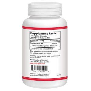 Serrapeptase Supplement Facts