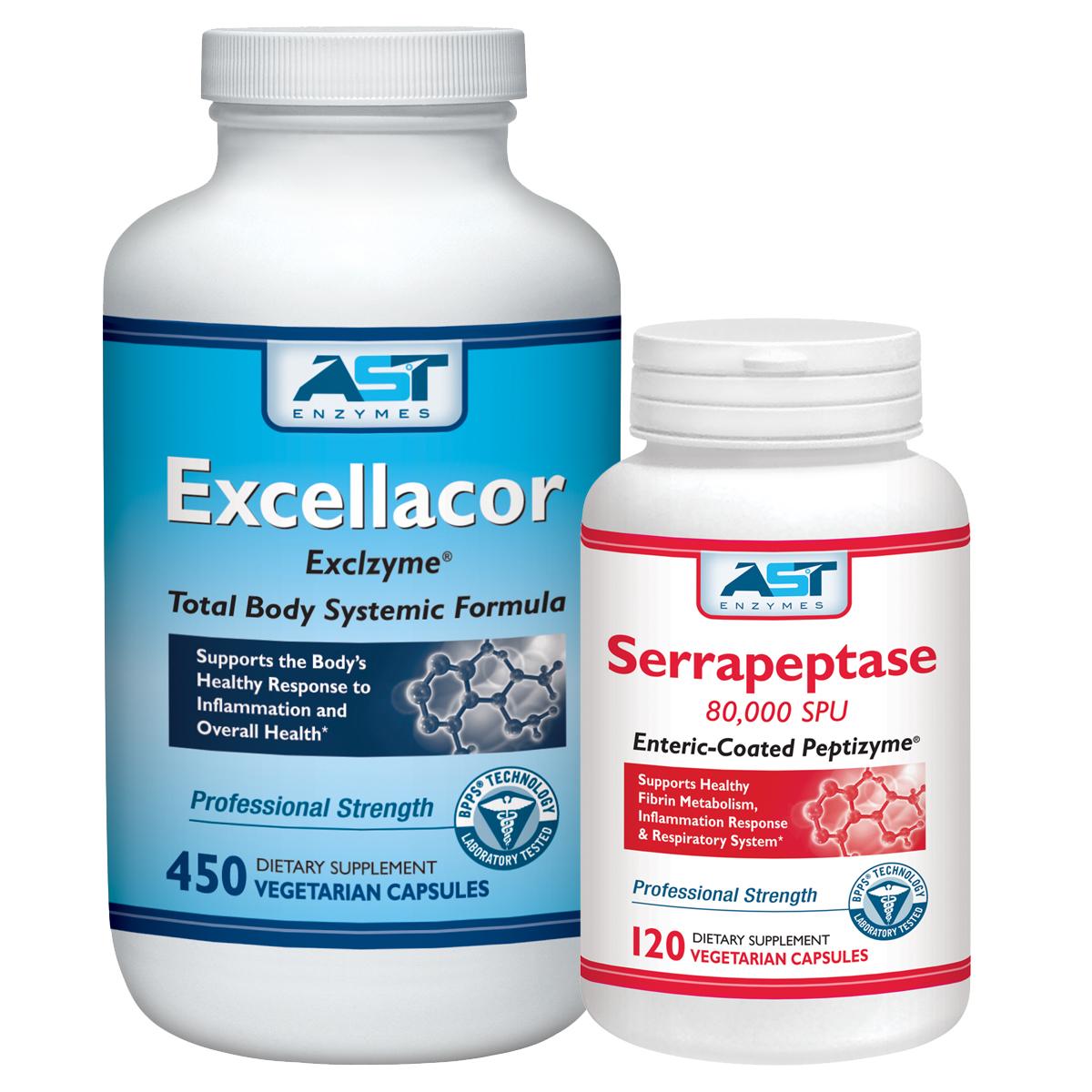 MUSCULAR SKELETAL   HEALTH   EXCELLACOR   SERRAPEPTASE
